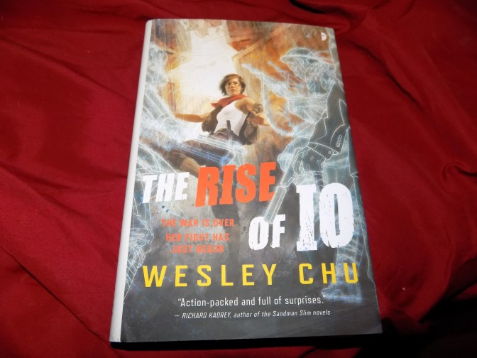 The Rise of IO by Wesley Chu is here