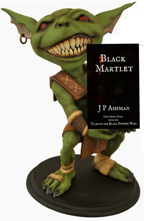 Hobs review of Black Martlet by J.P. Ashman