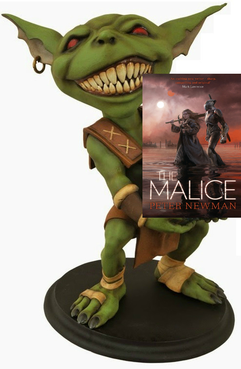 Hob's review of The Malice by Peter Newman