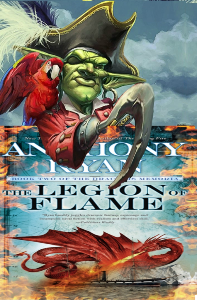 Hob's Review of  Legion of Flame by Anthony Ryan