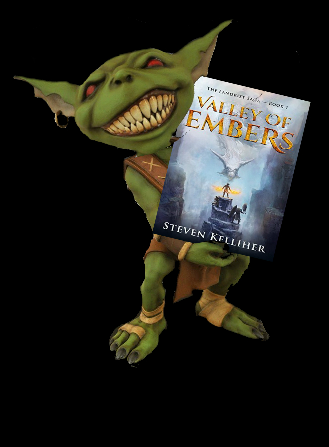 Hob's Review of Valley of Embers (The Landkist Saga Book 1) by Steven Kelliher