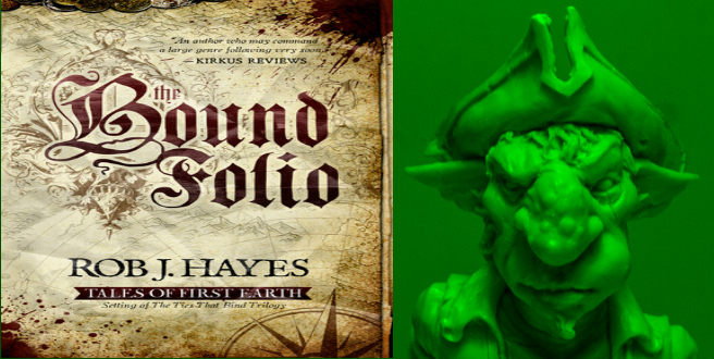 Hob's review of  The Bound Folio by Rob J. Hayes