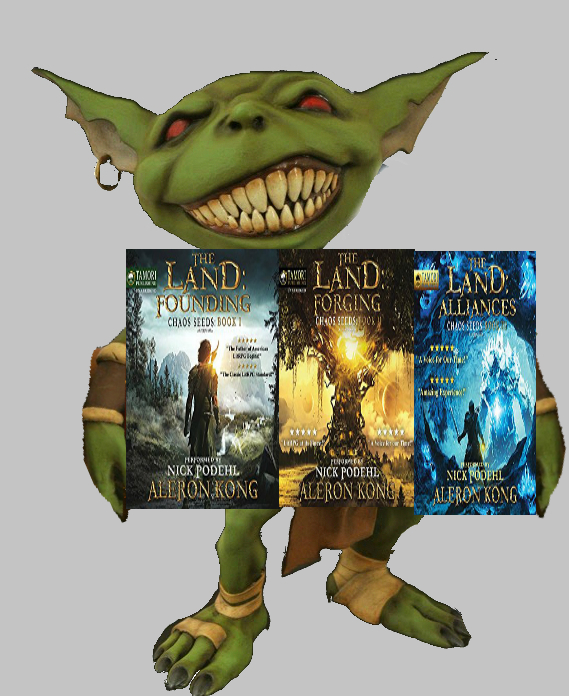 Hob's review of The Land By Aleron Kong books 1,2, and 3