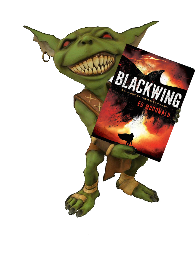 Hob's Review of Blackwing by Ed McDonald