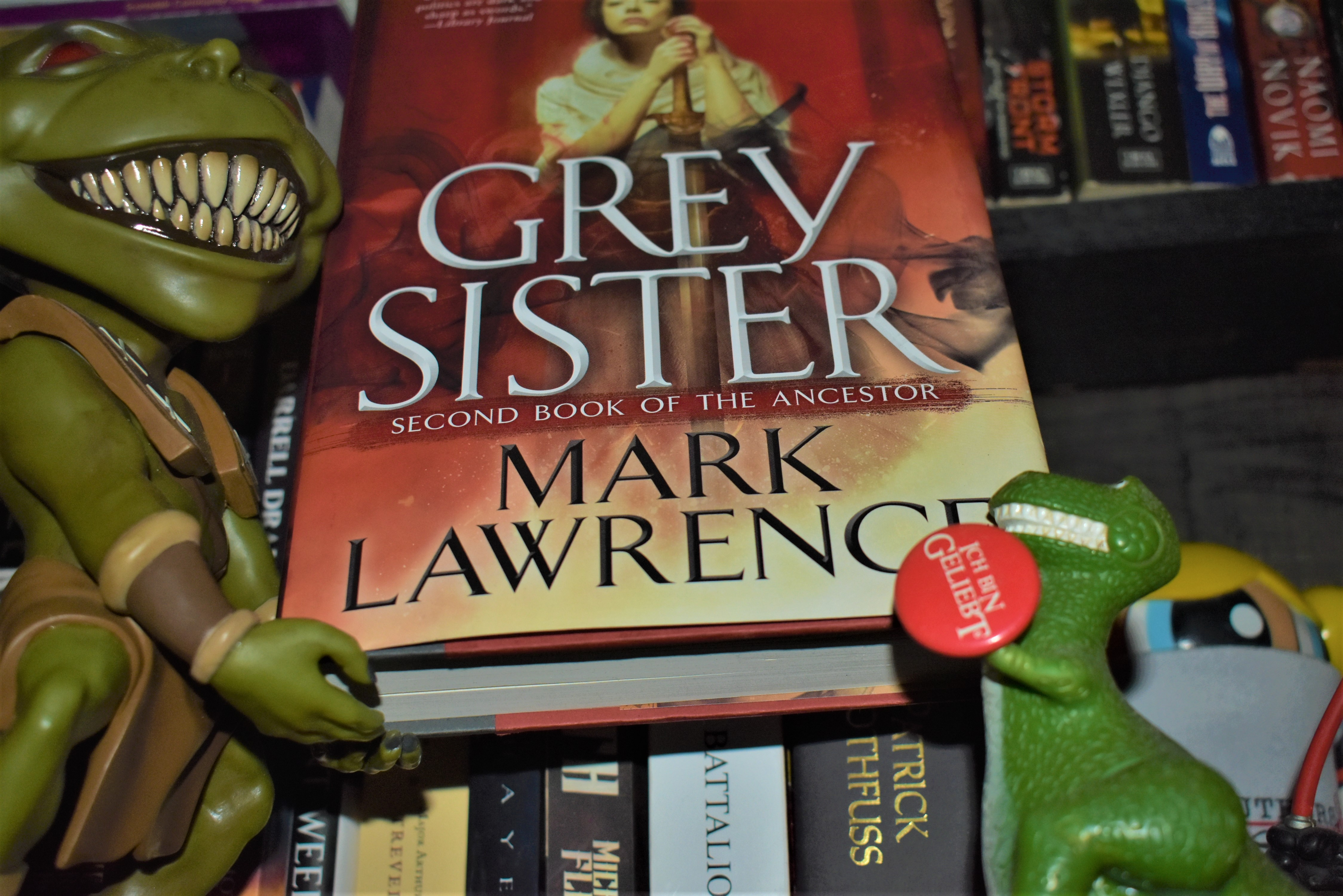 Hob's Review of Grey Sister (Book of the Ancestor #2) by